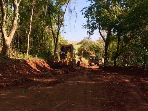 Recuperação da Estrada Rural Água da Piçarra