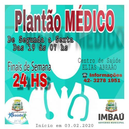Plantão Médico.