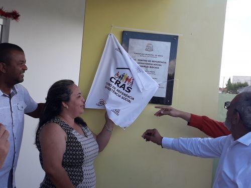 Inauguração do Cras- Vanderlei Biscaia Localizado Rua: Jorgina Paula Aires, Cidade Alta dia 29/11 as 16:00hrs.