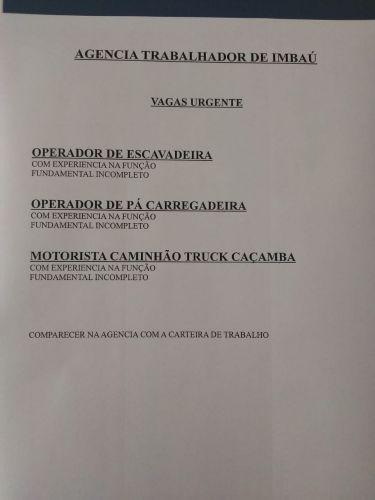 VAGAS DE EMPREGO (11/06/2021)