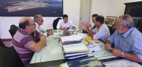 Prefeito Lauir de Oliveira esteve em Curitiba para fazer reivindicações para melhorias no Município.