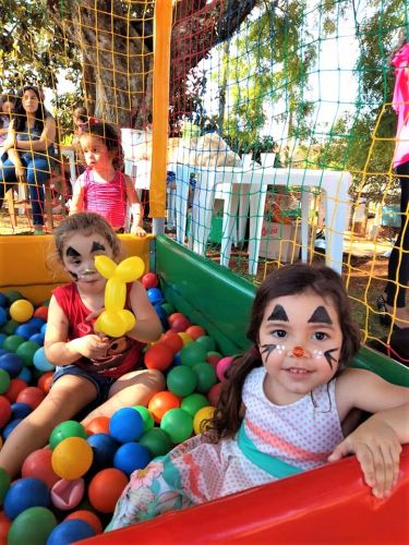Secretaria de Cultura e Esporte realiza festa para as crianças da Charqueadinha