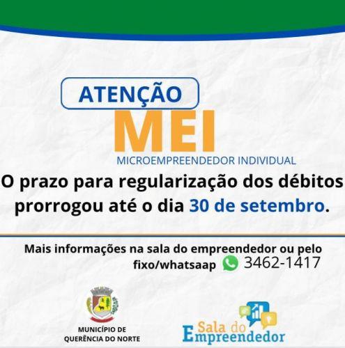 A Receita Federal prorrogou o prazo para os microempreendedores individuais (MEI)