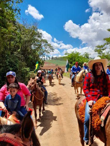 Gratidão é a palavra! 1ª Cavalgada do Santuário de Nossa Senhora Aparecida da Califórnia.