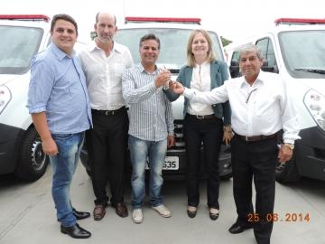 Manoel Ribas já conta com mais uma ambulância para os atendimentos de urgência e emergência.