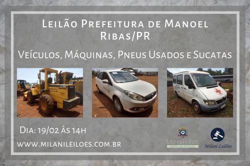 Leilão Prefeitura Municipal de Manoel Ribas - PR