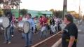 Ensaio da fanfarra anuncia preparação para desfile cívico em Manoel Ribas