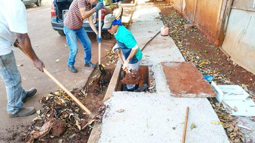 Secretaria de Serviços Públicos realiza manutenções no município