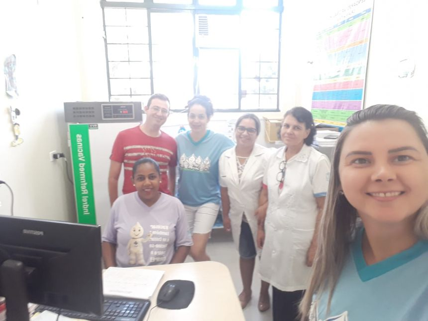 Dia D de vacinação contra o sarampo