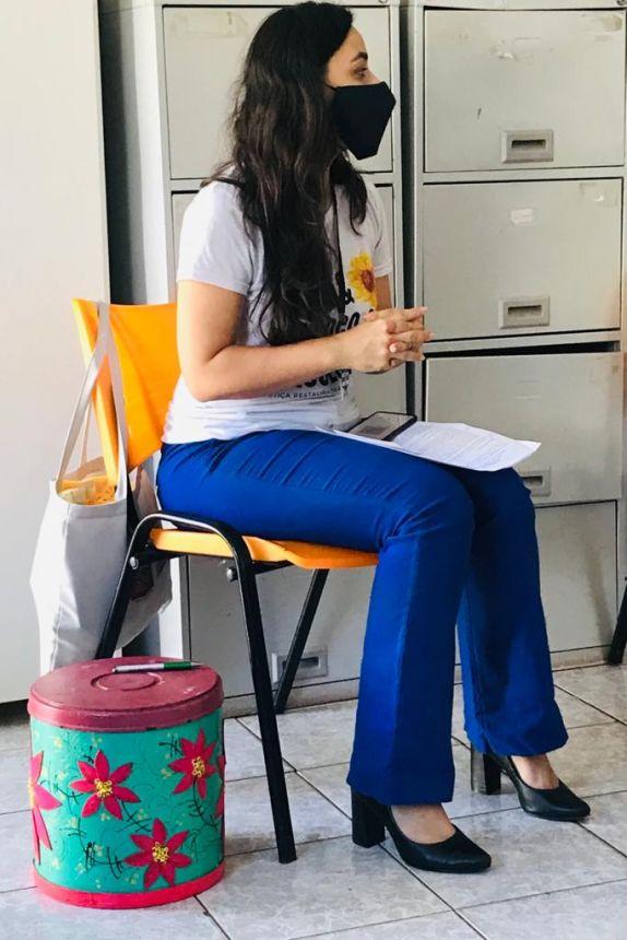 PSICÓLOGA ANDRESSA PIRES MARTINS REALIZOU NO CENTRO DE ATENÇÃO PSICOSSOCIAL (CAPS) UMA FORMAÇÃO PARA OS SERVIDORES DO NOSSO MUNICÍPIO.