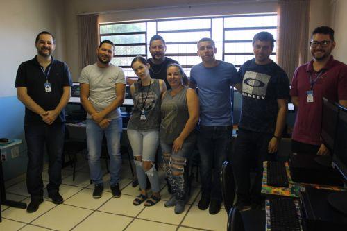 Secretaria de cultura reinaugura o Telecentro da Biblioteca Cidadã