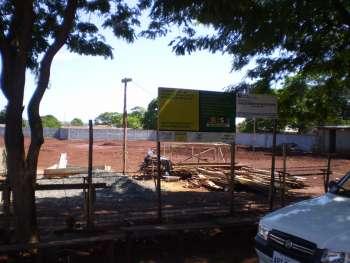 Construção da Escola de Educação Infantil