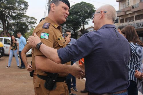 Entrega de veículos para a Polícia Militar e Delegacia de Polícia Civil de Paiçandu