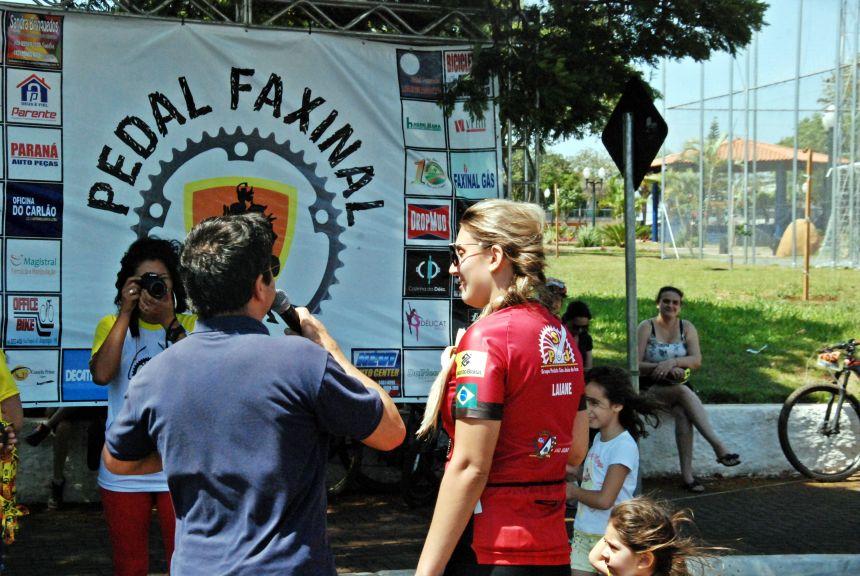 Em Faxinal mais de 250 ciclistas participam da 2ª Pedalada da Terra