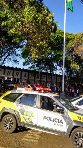 Ato Cívico marca inicio da semana da Pátria em Faxinal