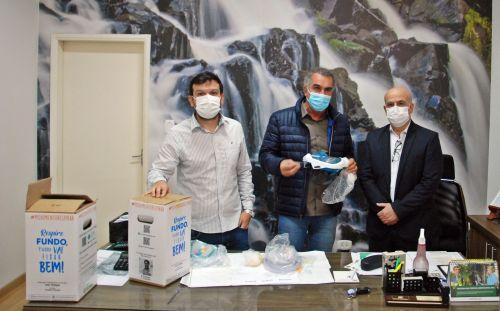 Secretaria de Saúde recebe doação de duas máscaras de Ventilação Não Invasiva