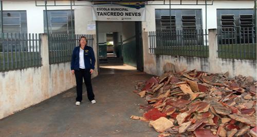 Prefeitura inicia melhorias em mais uma escola municipal