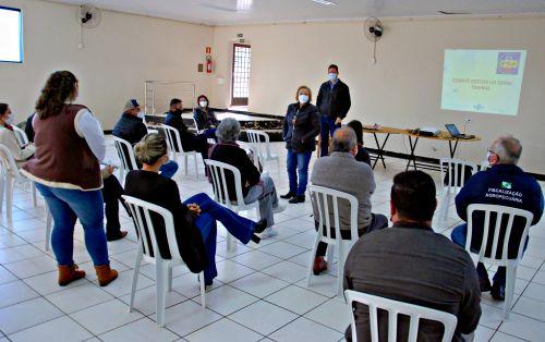 FAXINAL - Comitê Gestor realiza primeira reunião presencial