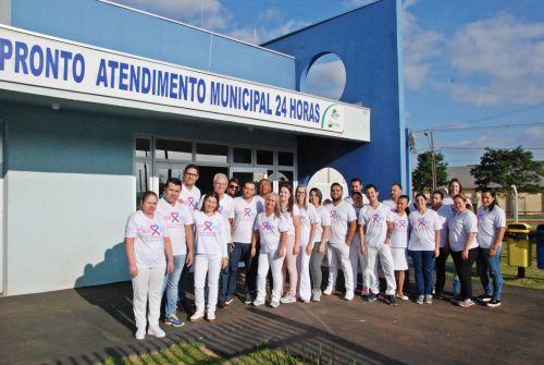 Hospital Municipal de Faxinal fomenta a Campanha Outubro Rosa