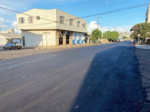 Prefeitura realiza obras de recapeamento asfáltico