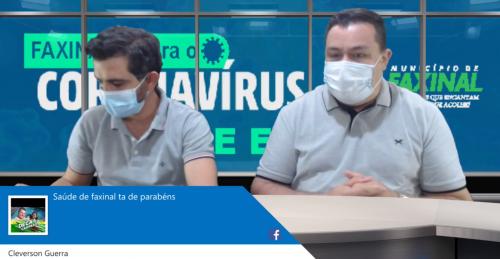 Saúde descarta 19 suspeitos de coronavírus em Faxinal