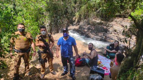 Fiscalização nas Cachoeiras em tempo de Pandemia
