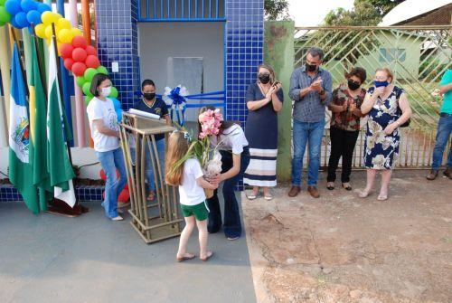 """Prefeitura entrega reforma da escola """"Alair Lourdes Fernandes"""""""