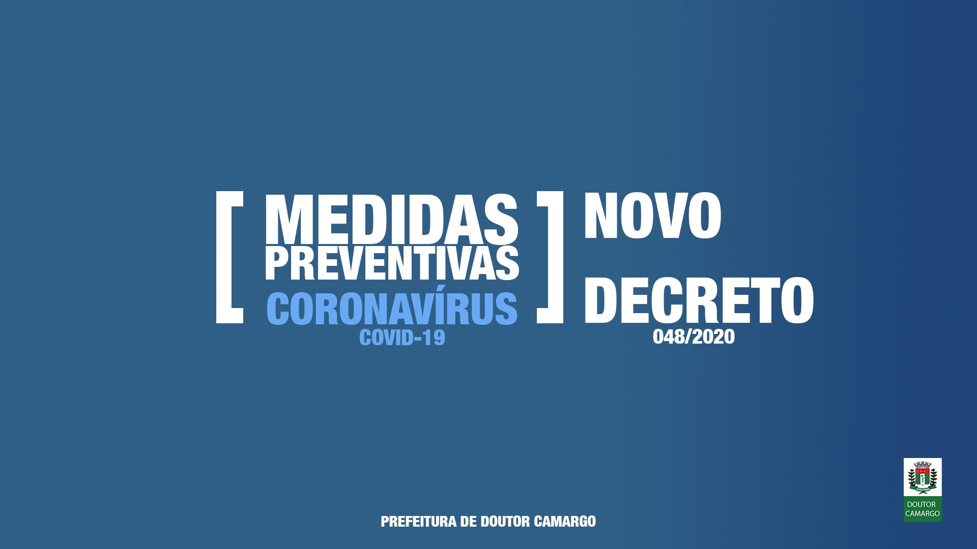 DECRETO CORONAVÍRUS 48