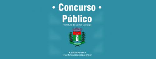 CONCURSO PÚBLICO- INSCRIÇÕES ATÉ 16/12/19