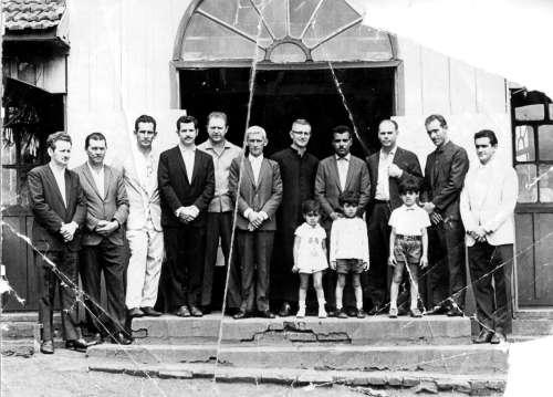 Gestão 1969 a 1972. Prefeito: Rosalino Felício dos Santos. Vice-prefeito: Armando Milani. Foto: Rosalino Felício dos Santos ? 1968.