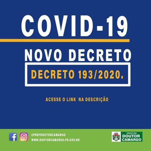 DECRETO 193/2020.