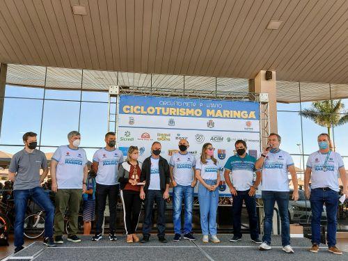 1.º Circuito Metropolitano Cicloturismo de Maringá!