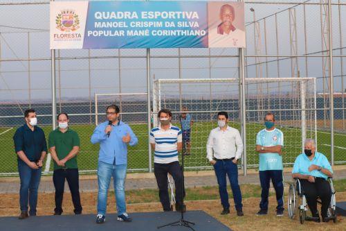 Quadra Esportiva é inaugurada no Conjunto Pantanal