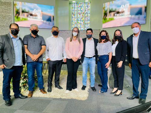 Parceria: Prefeitura e Faculdade Adventista Paranaense celebra realização da Clínica de Psicologia
