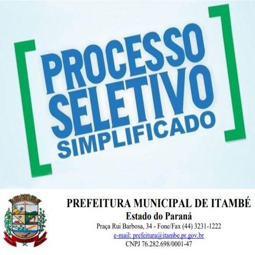 HOMOLOGAÇÃO DA CLASSIFICAÇÃO FINAL DO PSS 001/2021.
