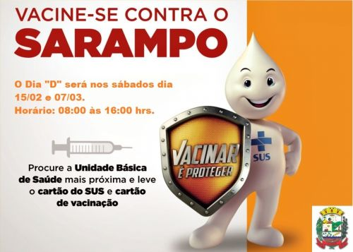 Campanha contra Sarampo