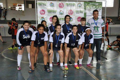 Premiação dos Jogos Escolares do Paraná - Fase Municipal