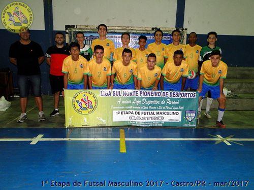 Equipes Platinenses participam de Competição em Castro