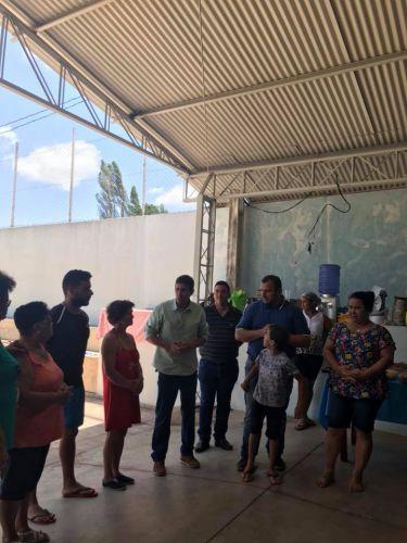 Confraternização com as idosas do Centro de Convivência do Idoso no Pesqueiro