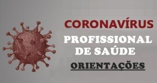 Infomações COVID-19 - Profissionais de Saúde