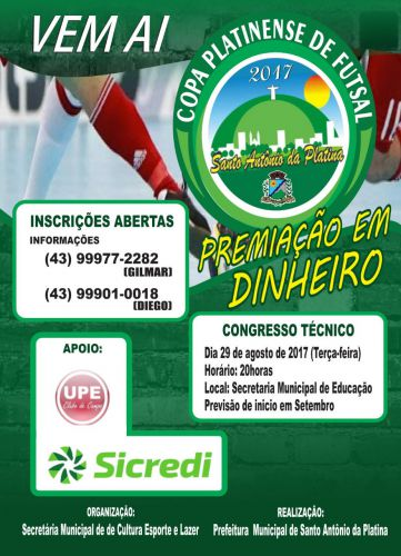 Copa Platinense de Futsal 2017