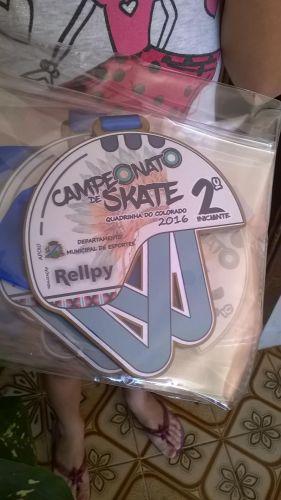 CAMPEONATO DE SKATE - QUADRA DO COLORADO