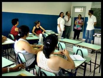 Professores da rede municipal participam de curso de aperfeiçoamento