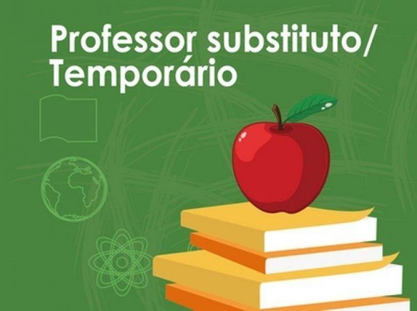 Convoca��o do PSS de PROFESSOR TEMPOR�RIO - CHAMADA PARA ENTREGA DE DOCUCMENTOS