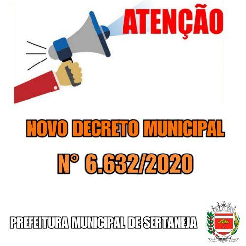 Novo Decreto Municipal