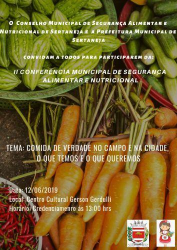 II Conferência Municipal de Segurança Alimentar e Nutricional