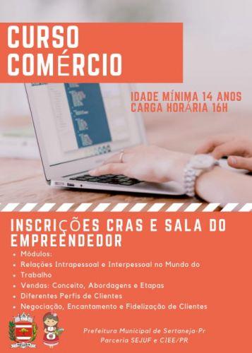 CURSO COMÉRCIO