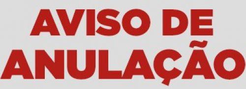 AVISO DE ANULA��O