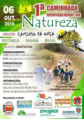 1ª Caminhada Internacional na Natureza