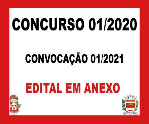 Edital de Convocacao 01/2021